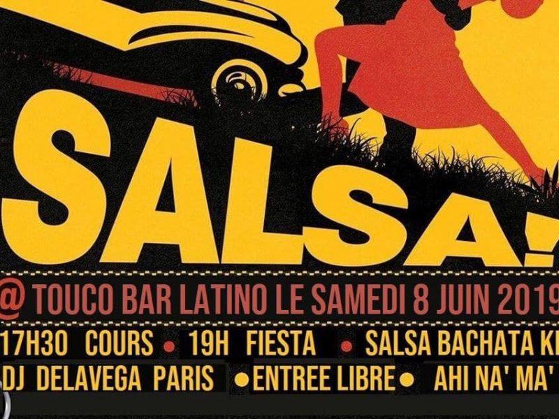 Cours et Soirée Salsa – Samedi 8 Juin