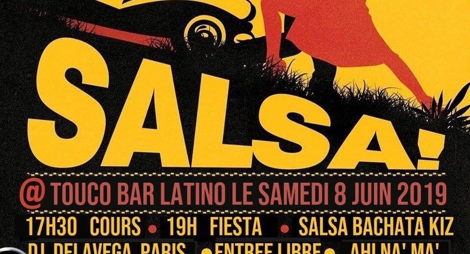 Cours et Soirée Salsa - Samedi 8 Juin